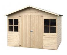 DéCOR ET JARDIN Caseta de madera - Lopun/Fresno (12 mm, 272 x 182 cm, 4.96 m²)