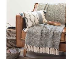Mantel de algodón con motivos decorativos 170x170