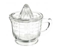 Exprimidor y tazón medidor de cristal RETRO