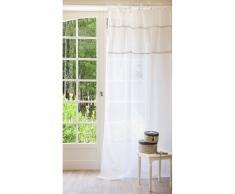 Cortina de nudos de lino blanco 140 x 250 cm HABSBOURG
