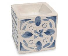 Vela con motivos de azulejos de cemento azules ESCALE