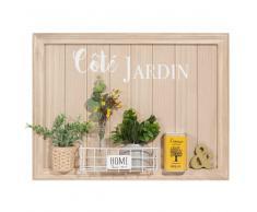 Cuadro jardinera 60x45 cm CÔTÉ JARDIN