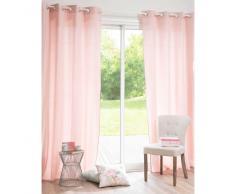 Cortina de algodón rosa 135 x 250 cm GALANTE