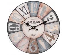 Reloj de madera D 34 cm COSY
