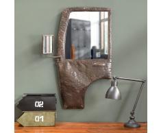 Espejo de estilo industrial puerta Tacot