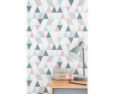 Papel pintado no tejido con motivos de triángulos H 10,05 m x L 0,53 m URBAN SOFT