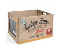 Caja de madera Al. 28cm DRUGSTORE