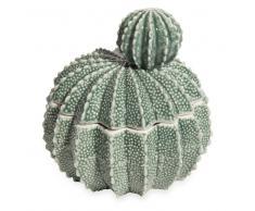 Joyero de porcelana verde CACTUS