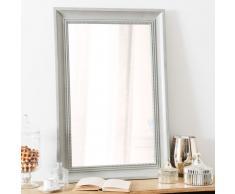 Espejo de madera gris Al. 90 cm HONORÉ