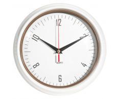 Reloj de metal blanco D 24 cm JESSIE