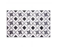 Alfombra de vinilo con motivos de azulejos de cemento 50x80