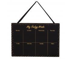 Semanario Weekly Planner de pizarra