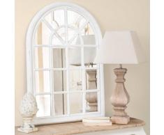 Espejo blanco Serrant modelo pequeño