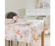 Mantel engomado de flores de lino 170 x 310cm COMTESSE