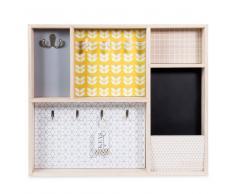 Caja de llaves de madera 43 x 51 cm YELLOW SUMMER