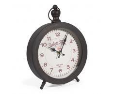 Reloj de mesa de metal D. 22 cm BAGEL