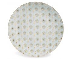 Plato llano de porcelana D 27 cm ASUKO