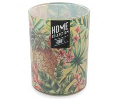 Vela perfumada en vaso Al. 13 cm EXOTIC JUNGLE