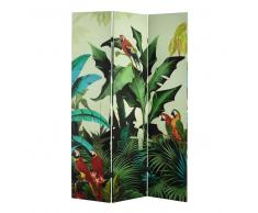 Biombo estampado tropical An. 121 cm SANTANA