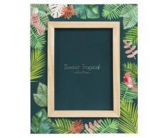 Marco de fotos de 13x18 con estampado tropical