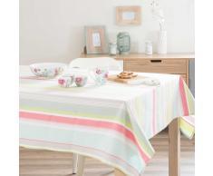 Mantel a rayas de algodón 150 x 350 cm CALYPSO