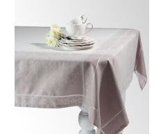 Mantel de tela gris 170 x 170 cm PALACE