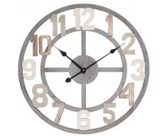 Reloj de imitación a madera con efecto envejecido D. 60 LUNERAY