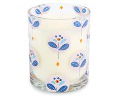 Vela perfumada en vaso Al. 10 cm PORTOFINO