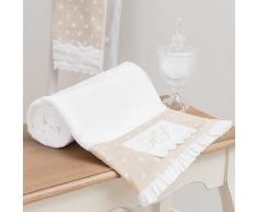 Toalla de ducha beis de algodón 100 × 150 cm SANS SOUCI