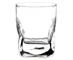 Vaso ancho de cristal QUARTZ