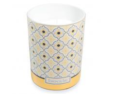 Vela perfumada de cristal Al. 13 cm YELLOW SUMMER
