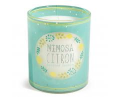 Vela perfumada de cristal MIMOSA CITRON