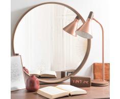 Espejo redondo de madera D 60 cm ANDERSEN