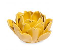 Candelabro flor de dolomita amarilla TUILERIES
