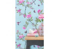 Papel pintado no tejido con impresión floral H 1005 x L 53 cm CLASSIC