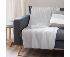 Manta polar gris claro 130×170cm POLAR
