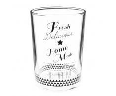 Vaso de cristal FRESH DELICIOUS