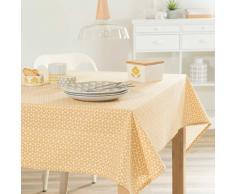Mantel de algodón amarilla 150 × 250 cm VINTAGE