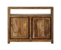 Mueble bar de madera maciza de sisu An. 130cm Stockholm