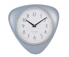 Reloj vintage de metal gris L.33cm CALVI