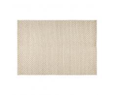 Alfombra de lana y algodón crudo 140x200 cm MOJAVE