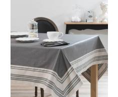 Mantel engomado gris 170 x 310 cm ORANGERIE