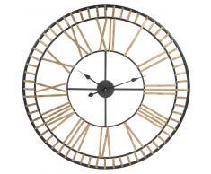 Reloj de metal D 90 cm CLAREMONT