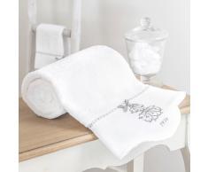 Toalla de baño de algodón blanca 30 × 50cm SIÈCLE