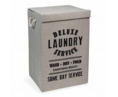 Cesto de ropa de tela LAUNDRY DELUXE