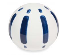 Bola decorativa de dolomita blanca y azul ESCALES