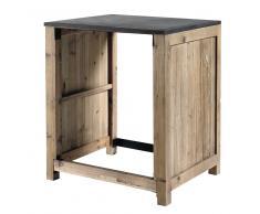 Mueble de cocina de pino reciclado para lavavajillas An. 68 Copenhague