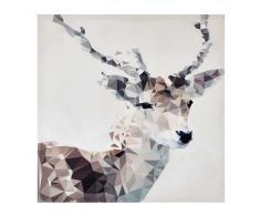 Lienzo ciervo 76 × 76cm SVEN