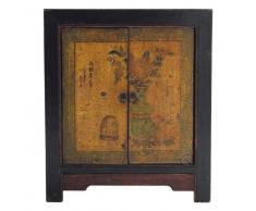 Cajonera de madera reciclada An. 60 cm Shanghaï