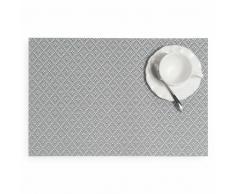 Mantel individual gris 30 x 45 cm AXEL